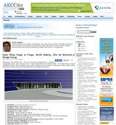 In the Media_AECC Solar Plaza Entrance